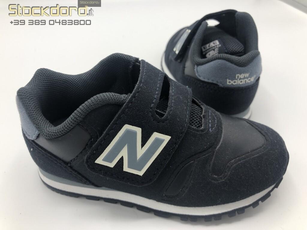 Scarpa Sneaker Bambino Blu NEW BALANCE n.23,5